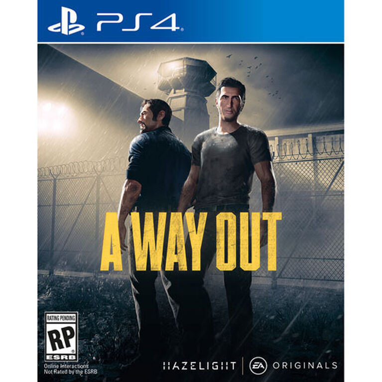 PlayStation 4 - A Way Out