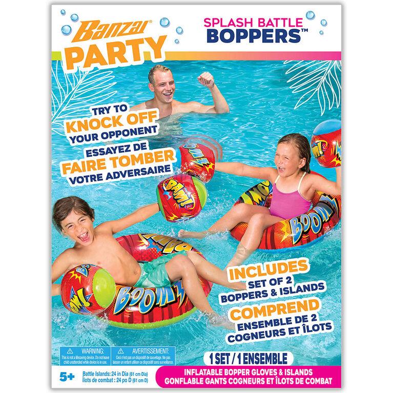Banzai  Pool Party Bouées Et Gants De Box Gonflables