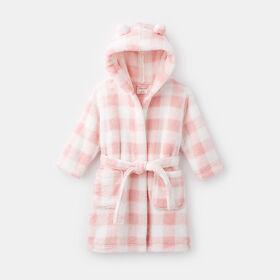 plush robe, size S/M - Pink