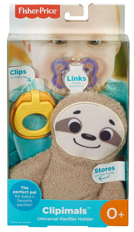 Fisher-Price Clipimals Universal Pacifier Holder