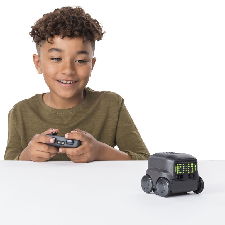 Boxer - Interactive A.I. Robot Toy (Black) with Personality and Emotions