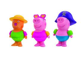 PEPPA PIG - Bath Squirters - Splish N Splash Friends