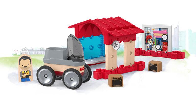 Fisher-Price - Système de création Constructeurs de merveilles - Garage.