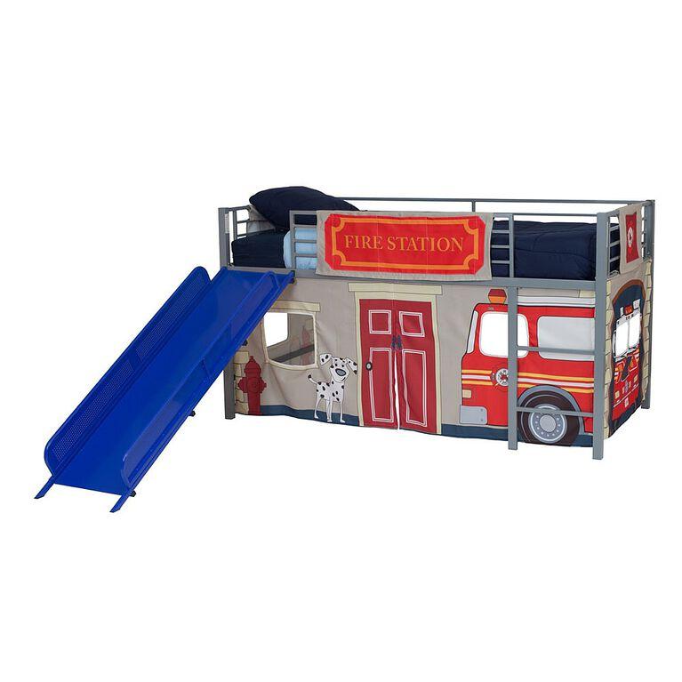 DHP - Ens de rideaux de lit pour enfant, Caserne de pompiers