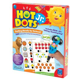 Educational Insights - Hot Dots Jr Getting Ready for School - English Edition