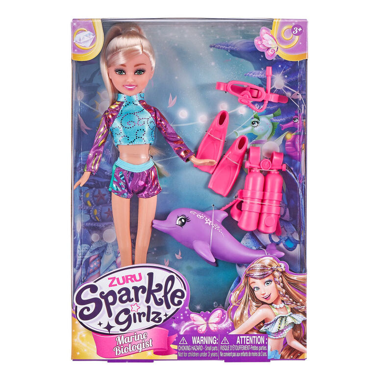 Ensemble de poupée Sparkle Girlz pâtissière par ZURU