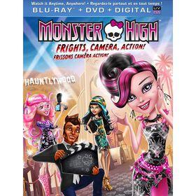 Monster High: Frissons caméra action! - Blu-ray + DVD + UltraViolet