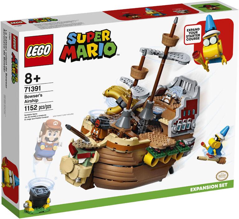 LEGO Super Mario Ensemble d'extension Le bateau volant de Bowser 71391