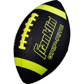 Ballon de football noir/néon Jr Grip Rite