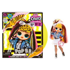 L.O.L. Surprise! O.M.G. Remix Pop B.B. Fashion Doll – 25 Surprises with Music - PRE-ORDER, SHIPS SEPT 25, 2020