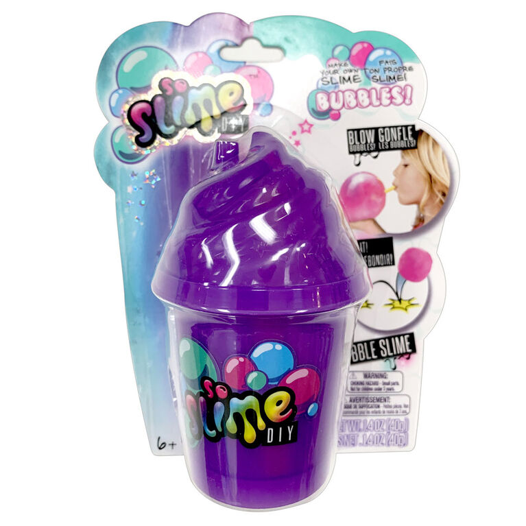So Slime - Slime Bubble Blind Bag - Purple - Colours and Styles May Vary