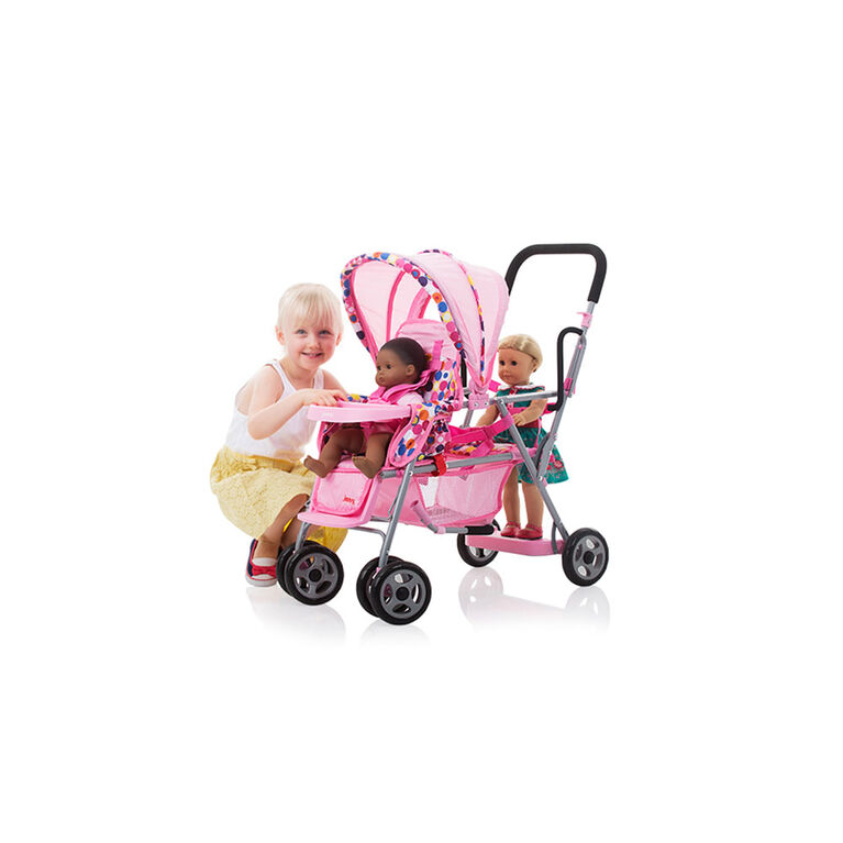 Joovy Toy Caboose Stroller - Pink