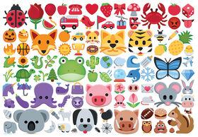 Emojicolors 1000 Piece Puzzle
