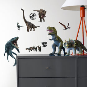 Jurassic World Peel & Stick Wall Decals