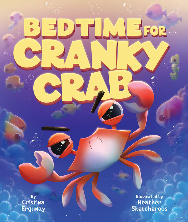 Scholastic - Bedtime for Cranky Crab - English Edition