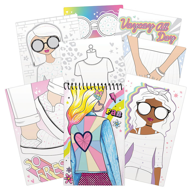 Sticker By Number - FASHION