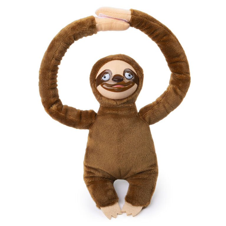 The Sloth Game, Team Charades and Task Game with Electronic Plush Sloth