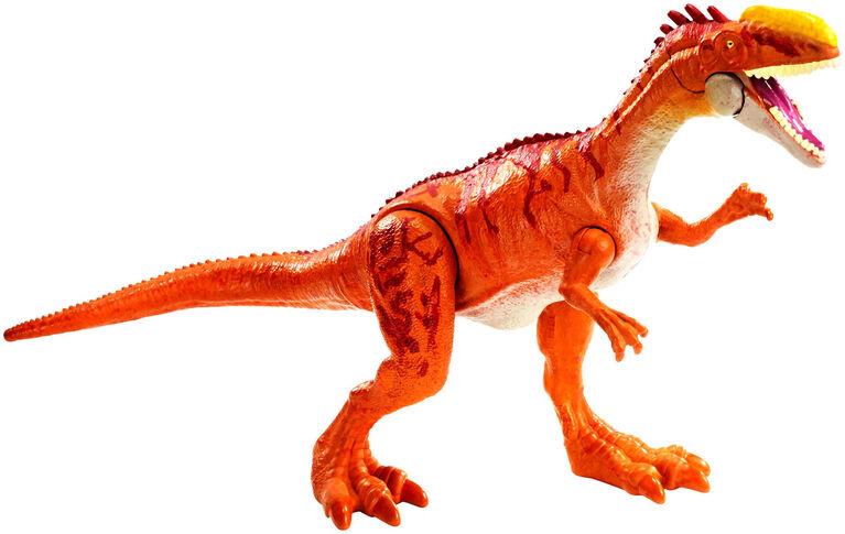 Jurassic World Savage Strike Monolophosaurus Figure
