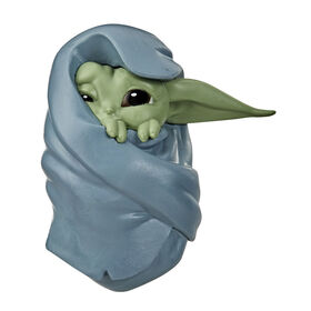 "Star Wars The Bounty Collection The Child Collectible Toy 2.2-Inch The Mandalorian ""Baby Yoda"" Blanket-Wrapped Pose Figure"
