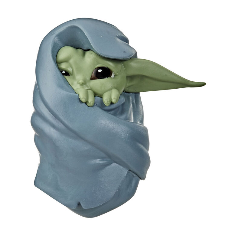"""Star Wars The Bounty Collection The Child Collectible Toy 2.2-Inch The Mandalorian """"Baby Yoda"""" Blanket-Wrapped Pose Figure"""