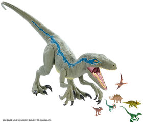 Jurassic World Super Colossal Velociraptor Blue.