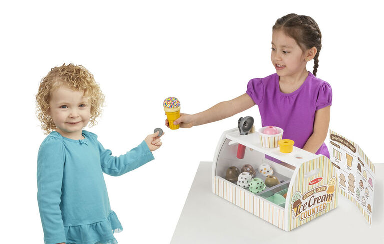 Melissa & Doug - Scoop & Serve Ice Cream Counter - styles may vary