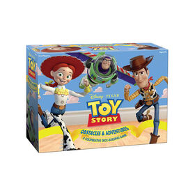 TOY STORY OBSTACLES & ADVENTURES – A Cooperative Deck-Building Board Game - English Edition