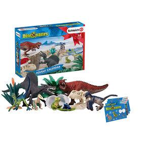Calendrier de l'avent des dinosaures