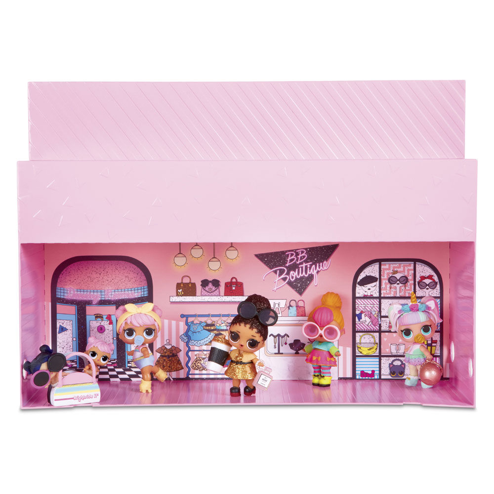 LOL Surprise Pop Up Store 3 In 1 Play Set Display Case Exclusive Doll