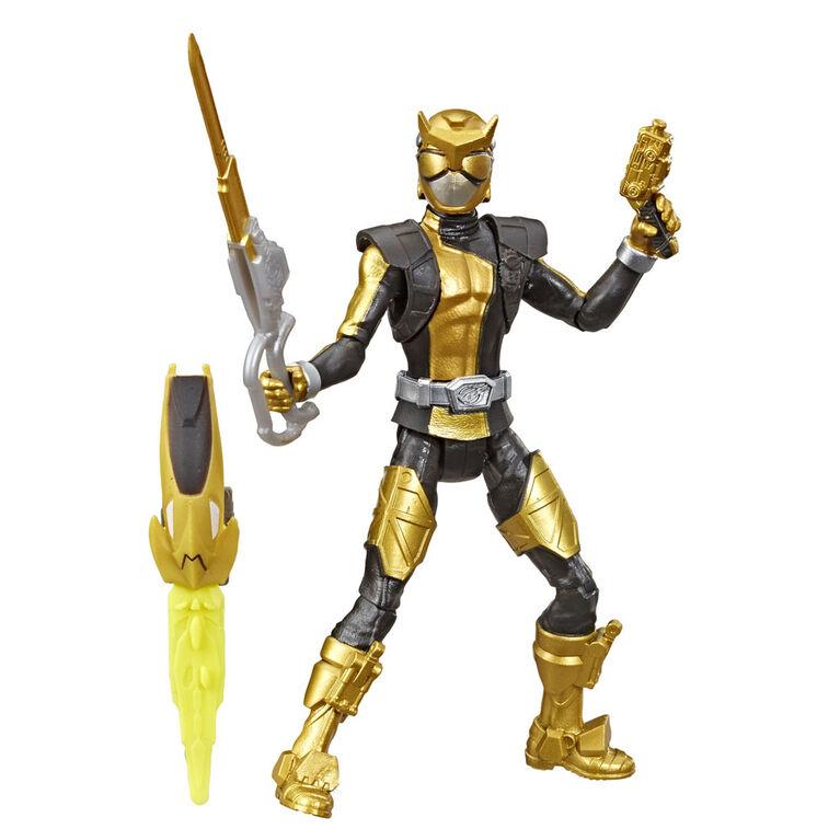 Power Rangers Beast Morphers: Gold Ranger 6-inch - inspired by the Power Rangers TV Show