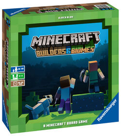 Ravensburger: Minecraft - Builders & Biomes Board Game
