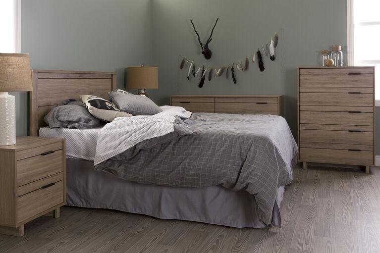 Fynn 6-Drawer Double Dresser- Rustic Oak