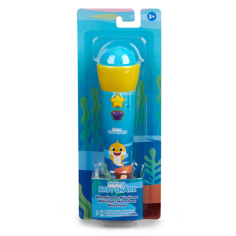 Pinkfong Baby Shark Official Silly Sing-Along Microphone