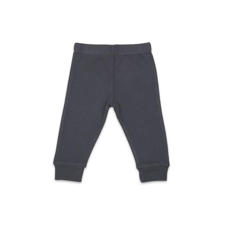 Koala Baby Shirt and Pants Set, Grey with Star - Newborn