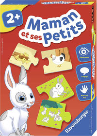 Ravensburger! Mom and Her Cubs Game - French Edition