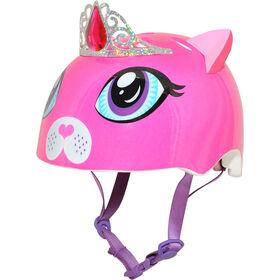 Raskullz - Duchess Meow Toddler 3+  Bike Helmet - Pink