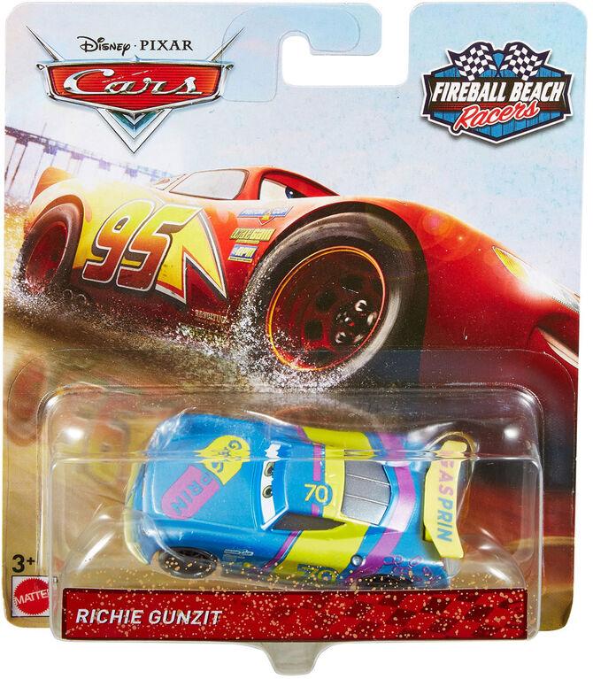 Disney/Pixar Cars Fireball Beach Racers Richie Gunzit Vehicle