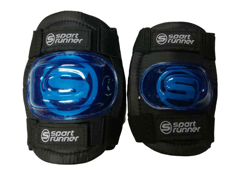 Sport Runner Medium/Large Knee and Elbow Pad Set - Blue - R Exclusive