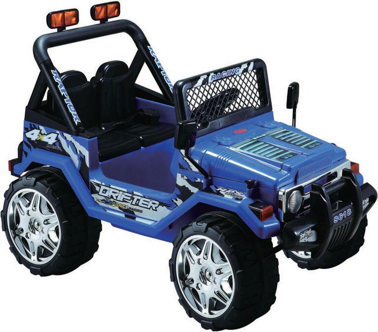 Kidsquad Wrangler Style 12V Blue