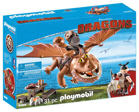 Playmobil - How To Train Your Dragon -  Fishlegs and Meatlug
