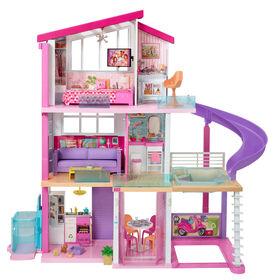 Maison de rêve Barbie avec piscine, glissade et ascenseur accessible en fauteuil roulant
