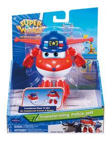 Super Wings Transforming Police Jett