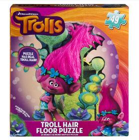 Troll Hair Floor Puzzle