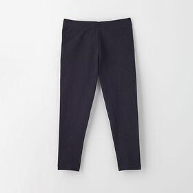 organic play legging, 5-6y - black
