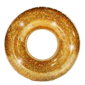 "48"" Gold Hologrpahic Glitter Pool Tube"