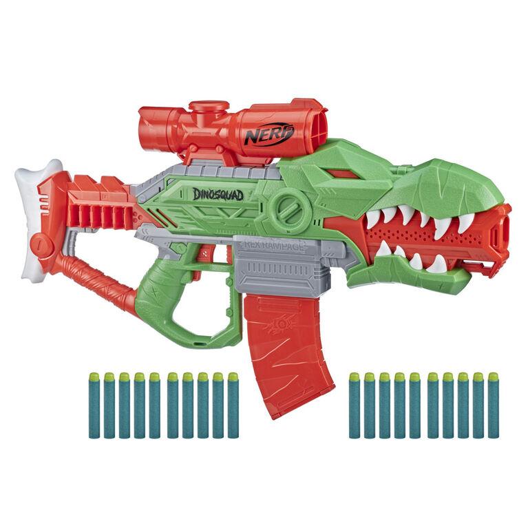 Nerf DinoSquad, blaster motorisé Rex-Rampage