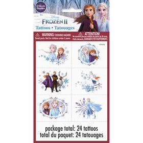 Frozen Tattoos, 24 pieces
