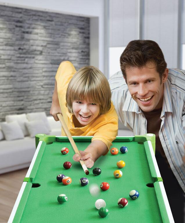 """32"""" (82cm) 2-in-1 Table & Tabletop  Billiards for Kids"""