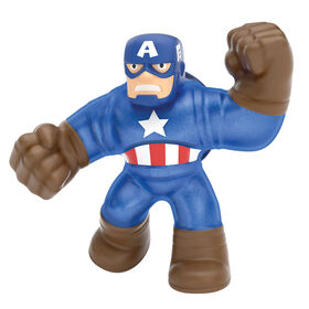 Heroes Of Goo Jit Zu Licensed Marvel Hero Pack - Captain America