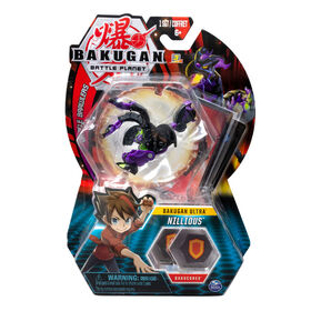 Bakugan Ultra Ball Pack, Nillious, 3-inch Collectible Action Figure and Trading Card
